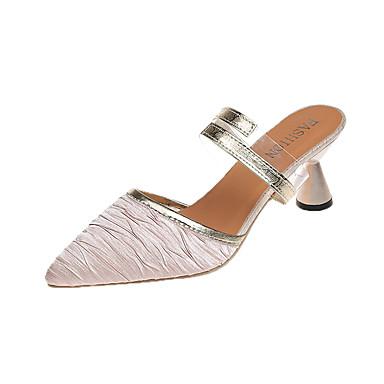 Marche Chaussures pointu Bout Talon Confort A Noir hétérotypique Arrière Eté Polyuréthane Automne 06650060 Bride Femme Bout fermé Sandales SdOwzqxCzp
