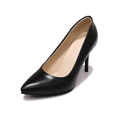 Beige à Rose Talon Confort Femme pointu Noir Aiguille Talons Printemps Chaussures Chaussures Bout Automne 06656877 Similicuir RqYwBfgwO1