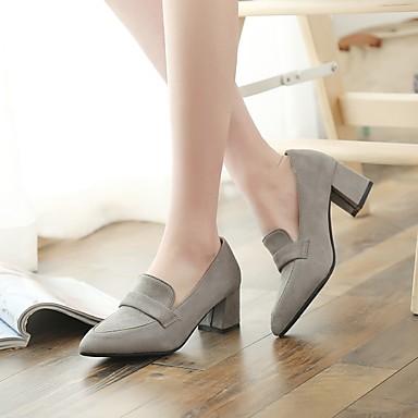 à Gris 06665186 Basique Talons Chaussures Bout Bottier Chaussures pointu Talon Femme Printemps Escarpin Jaune Noir Similicuir ZqOfYO