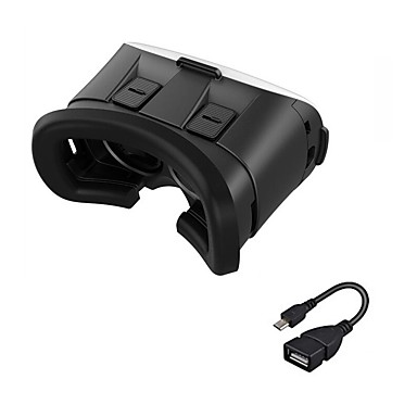 vr 3d glasses 2.0 version الواقع الافتراضي الفيديو الفيلم لعبة النظارات سماعة مع وتغ لالروبوت الهاتف الذكي