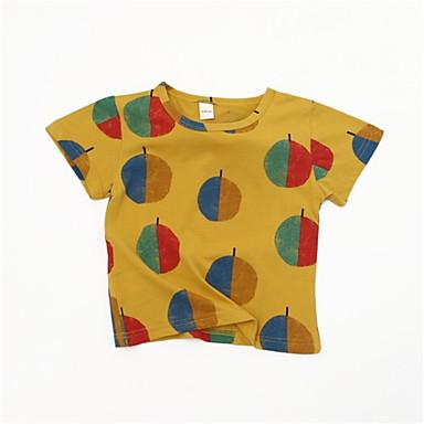 Dzieci Dla chłopców Podstawowy Owoc Krótki rękaw T-shirt