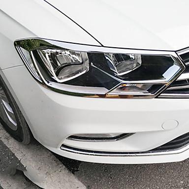 2pcs Car Light Covers Business Paste Type For Headlamp Volkswagen Bora 2016 2017 6687472 2019 50 99