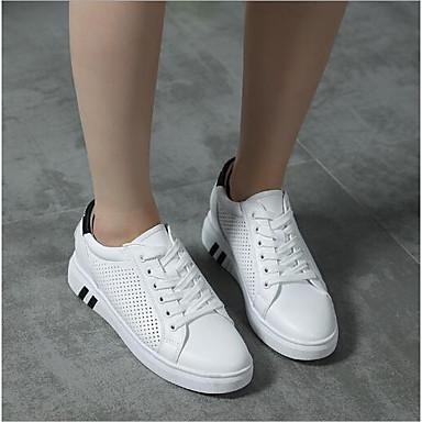 Plat Printemps Confort rond Chaussures 06686789 Polyuréthane été Bout Femme Noir Vert Basket Talon qC1w0nES