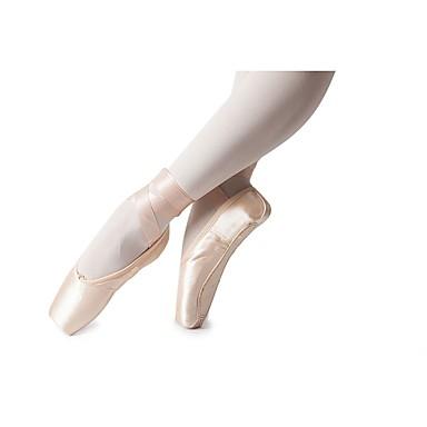 abordables Meilleures Ventes-Fille Soie Chaussures de Ballet Ruban Plate Talon Plat Personnalisables Rose / Intérieur / Entraînement / EU38