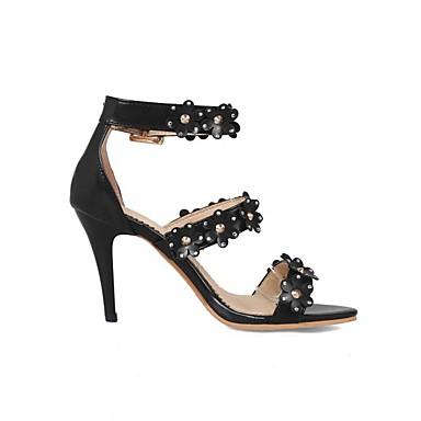 Rouge Printemps Escarpin Boucle Aiguille Noir Chaussures Femme Talon YrBtHqwB