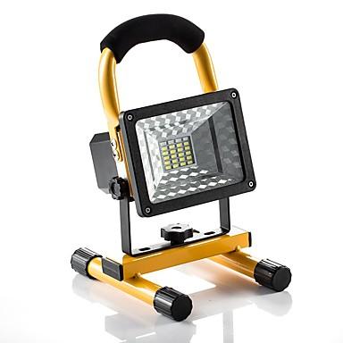 abordables Éclairage Extérieur-KWB 1pc 30 W Projecteurs LED Imperméable / Intensité Réglable 5 V Eclairage Extérieur 24 Perles LED