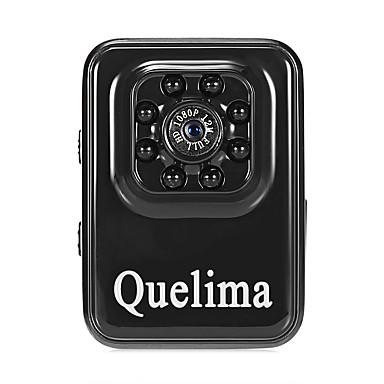 Quelima R3 1080p Mini / Nattsyn / Dual Lens Bil DVR 120 grader Bred vinkel CMOS Dash Cam med G-Sensor / Loop-opptak 8 infrarøde LED