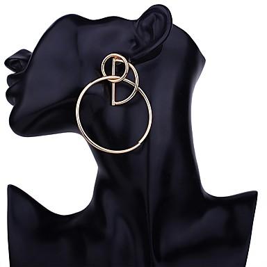Kolczyki sztyfty - Moda Złoty / Srebrny / Różowe złoto Na Impreza / Wieczór Prezent