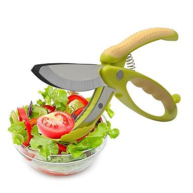 Narzędzia kuchenne Stal nierdzewna Prosty Przecinarki / Nożycowy / Akcesoria do owoców i warzyw dla owoców / warzyw / Sałatka 1szt