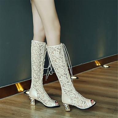 Eté Confort 06665865 Sandales Noir Evénement Bout Bottier Chaussures Talon Beige Femme Matières Soirée ouvert Blanc Personnalisées amp; ta4AwXIq