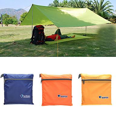 رخيصةأون مفارش و خيم و كانوبي-واقي للتخييم في الهواء الطلق طبقة واحدة قطب الماسورة خيمة التخييم 1000-1500 mm إلى شاطئ Camping / Hiking / Caving تنزه قماش اكسفورد أكسفورد 250*100 cm