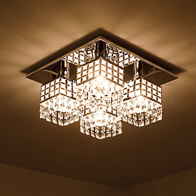 SL® Takmonterad Glödande Elektropläterad Metall Kristall 110-120V / 220-240V Glödlampa inte inkluderad / E26 / E27