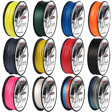 cheap Fishing Lines-PE Braided Line / Dyneema / Superline Fishing Line 100M / 110 Yards 80LB 70LB 60LB 0.1-0.5 mm Bait Casting Lure Fishing / 55LB / 50LB / 45LB / 40LB / 35LB