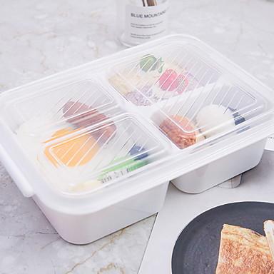 Organizacja kuchni Pudełka śniadaniowe Szkło Łatwy w użyciu 1szt