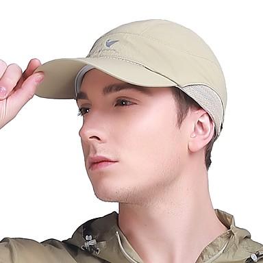 VEPEAL Καπέλο πεζοπορίας Pălării Uscare rapidă Respirabilitate Rezistent la UV Vară Albastru Unisex Drumeție Exerciții exterior Mers Plasă Adulți
