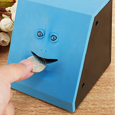 povoljno Nove igračke-Coin Bank Lice Kreativan Cool Guma Tinejdžer Dječji Dječaci Djevojčice Igračke za kućne ljubimce Poklon