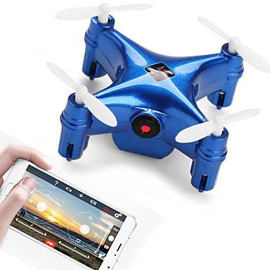 Dedito Rc Drone Wltoys Q343 Rtf 4 Canali 6 Asse 2.4g - Wi-fi Con Videocamera Hd 0.3mp 640p*480p Quadricottero Rc Fpv - Controllo Di Orientamento Intelligente In Avanti - Giravolta In Volo A 360 Gradi #06735200 Forma Elegante