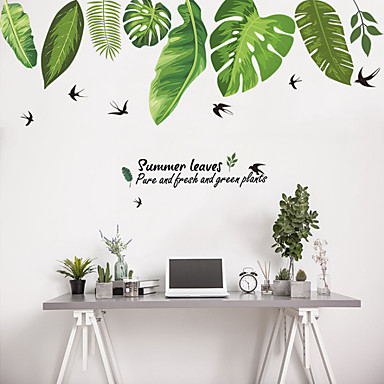 Autocolante de Perete Decorative - Autocolante perete plane Animale / Floral / Botanic Sufragerie / Dormitor / Baie