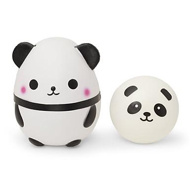 LT.Squishies Jucării din Cauciuc / Alină Stresul Panda Stres și anxietate relief / Jucarii de decompresie uretan poli 2 pcs Pentru copii