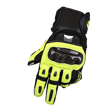 MOTOBOY Deget Întreg Unisex Mănuși Motociclete Fibra de carbon / Burete / uretan poli Ecran tactil / Respirabil / Rezistent la uzură