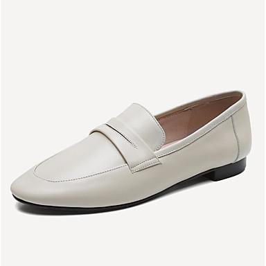 Chaussures Vert Nappa D6148 Cuir Bout Beige Femme rond Mocassins Talon Confort Noir 06770417 Eté et Bas Chaussons ZqdEERwx