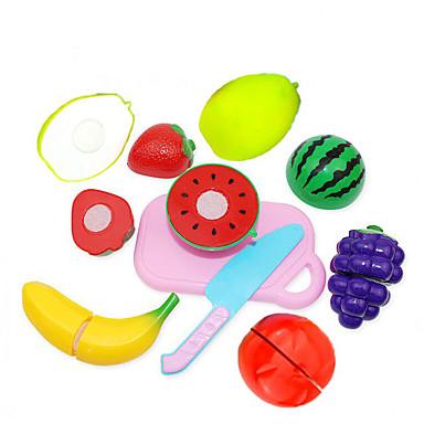 Conjuntos Toy Cozinha Brinquedos de Faz de Conta Cortadores de Frutas e Vegetais Frutas e Vegetais Criativo Novidades Plástico Para
