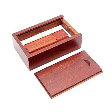 Ants 8GB Flash Drive USB usb disc USB 2.0 De lemn În Formă de Cub Învelișuri