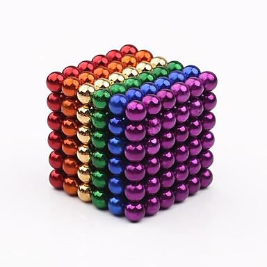 216/432/648/864/1000 pcs 3mm Magnetické hračky Magnetická hračka magnetické kuličky Magnetické hračky Stres a úzkost Relief Focus Toy Office Desk Toys střední Chlapecké Dívčí Hračky Dárek