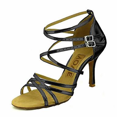 Латинской Настраиваемые женские сандалии танцевальная обувь (больше цветов)