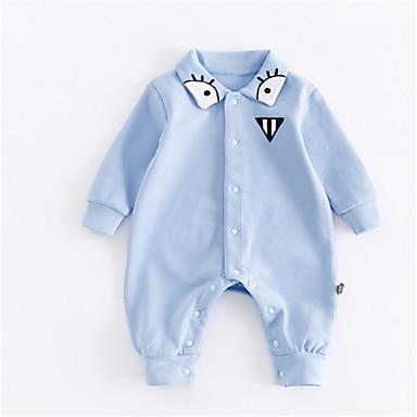 Bebelus Fete De Bază Mată Manșon Lung O - piesă / Copil