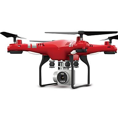 RC Dronă X52HD RTF 4CH 6 Axe 2.4G Cameră HD 3.0MP 1080P Quadcopter RC FPV / O Tastă Pentru întoarcere / Headless Mode Quadcopter RC / Telecomandă / Cameră Foto / Acces în Timp Real Footage