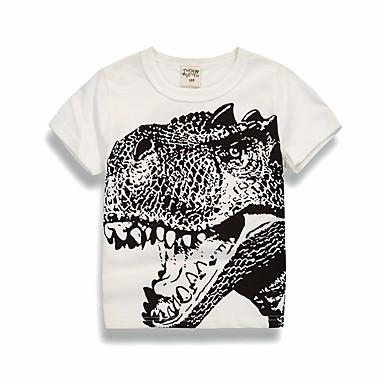 Copii Băieți Mată / Geometric Manșon scurt Bluză