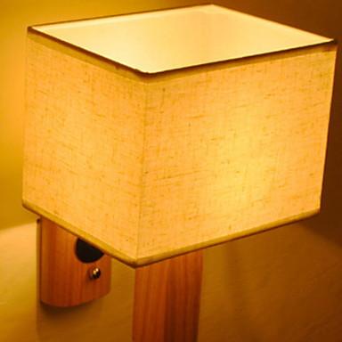 Cool Modern / Contemporan Becuri de perete Dormitor / Baie Lemn / bambus Lumina de perete 220-240V 40 W / E27