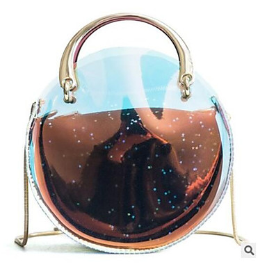 Pentru femei Genți PVC / PU Seturi de sac Set de pungi pentru 2 buc Paiete / Fermoar Auriu / Negru