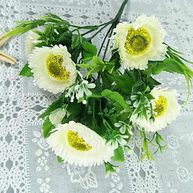 Flori artificiale 7 ramură Clasic Tradițional / Clasic Crizantemă Față de masă flori