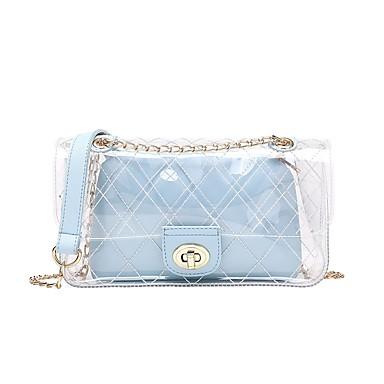 Pentru femei Genți PVC / PU Seturi de sac Set de pungi pentru 2 buc Buton Trifoi / Roz Îmbujorat / Albastru celest