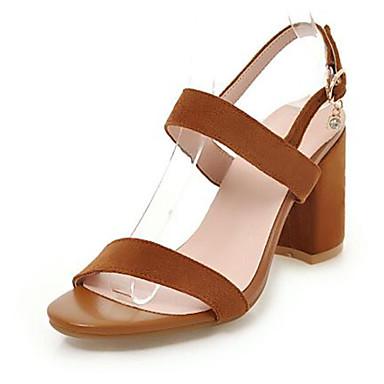 Beige 06725783 Chaussures Printemps Bottier Basique Talon ouvert Rose Femme Boucle Jaune Sandales été Polyuréthane Escarpin Bout AUqx7dgZn