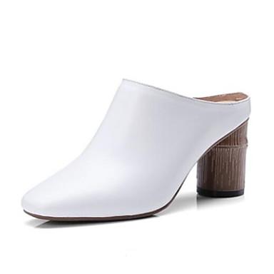 Blanc Cuir Talon hiver Femme Nappa Noir Bout Chaussures Automne fermé Confort Sandales 06764411 Bottier Pa0q1wq5In
