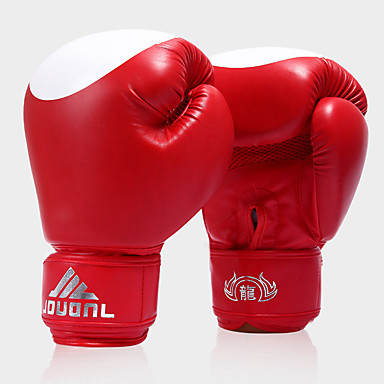 Geantă Mănuși de box / Mănuși de box de formare pentru Box un singur deget Purtabil / Protector / Rezistent la Șoc PU 2 pcs