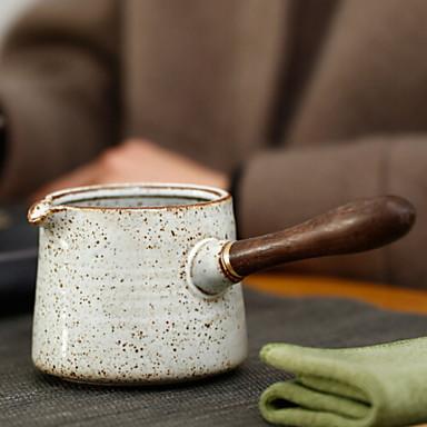 Lemn Rezistentă la căldură / Ceai Oval 1 buc ceainic