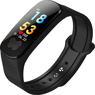 SMA B37S Brățară inteligent Android iOS Bluetooth GPS Rezistent la apă Măsurare Tensiune Arterială Touch Screen Calorii Arse ECG + PPG Pedometru Reamintire Apel Monitor de Activitate Sleeptracker