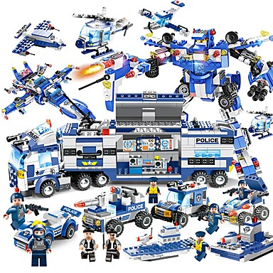 Lego 825 pcs Vehicule Ameliorează ADD, ADHD, anxietate, autism Jucarii de decompresie Interacțiunea părinte-copil Băieți Fete Jucarii Cadou