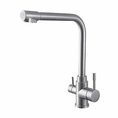 Robinet Bucătărie - Universal Oțel inoxidabil Inalt / ridicat Arc În Picioare