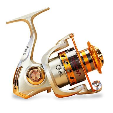 رخيصةأون بكرات الصيد-Fishing Reels بكرة دوارة 5.5/1 نسبة أعداد التروس والاسنان+12 الكرة كراسى توجيه اليد قابلة تغيير الصيد البحري / صيد الكالماري