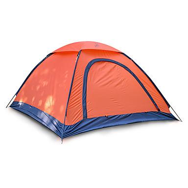 JUNGLEBOA® 2 Pessoas Barracas de Acampar Leves Único Poste Dome Barraca de acampamento Ao ar livre Portátil, Prova-de-Água, Á Prova de Humidade para Equitação / Campismo 1000-1500 mm Fibra de Vidro