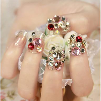 voordelige Nagelstrass & Decoraties-5 pcs Glitter / Kristal Metalen kralen / Kynsien korut Sieraden Sets / Accessoire / Decoraties