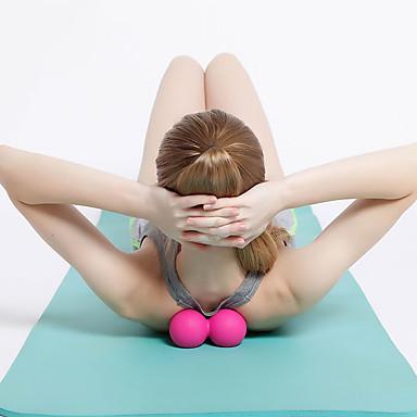 Roller Dublu de Masaj Cu 1 pcs TPE Masaj Pentru Yoga / Fitness / Sală de Fitness