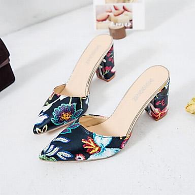 Violet Noir 06752065 Rouge Chaussures Eté A Polyuréthane Bottier Mules Arrière Femme Bride amp; Sabot Talon qP7RU7w6x