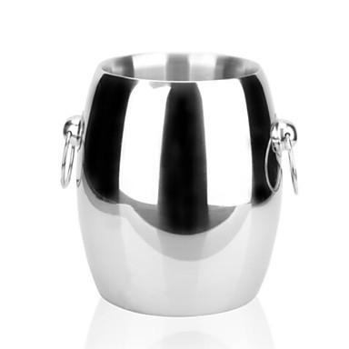 Găleată Gheață / Răcitor de Vin Oțel inoxidabil, Vin Accesorii Calitate superioară creator pentru barware Uşor de Folosit 1 buc