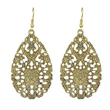 voordelige Oorbellen-Dames Lang Druppel oorbellen oorbellen Peer Dames Standaard Modieus Sieraden Zilver / As / Bronzen Voor Dagelijks Afspraakje 1 paar